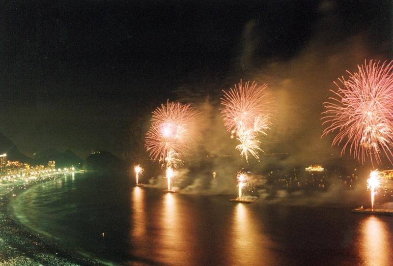 Новый год в Рио 2014