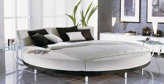 круглые кровати фото