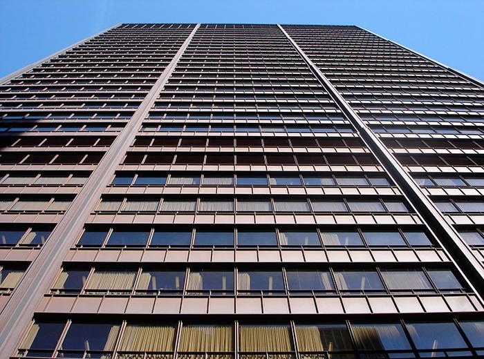 Остекление высотных зданий